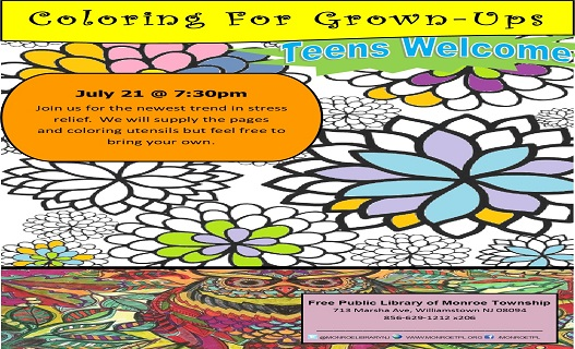 Coloring for Grown-ups July16twweb
