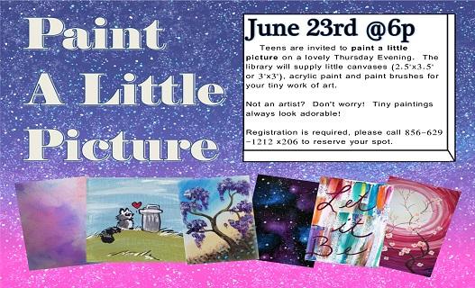 Paint a little pictureweb