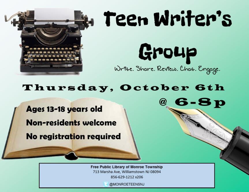 teenwritersgroupoct16