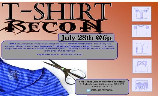 tshirt recon