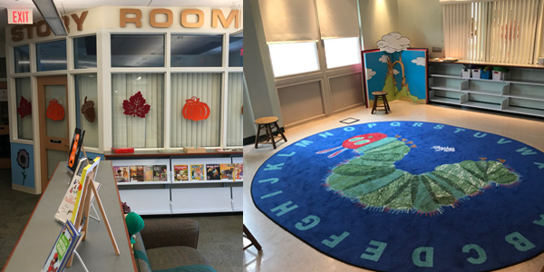Monroe Township Public Library Children's Story Room