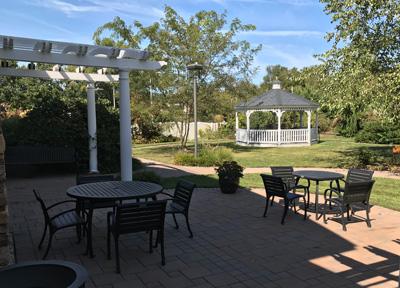 Monroe Township Public Library Garden